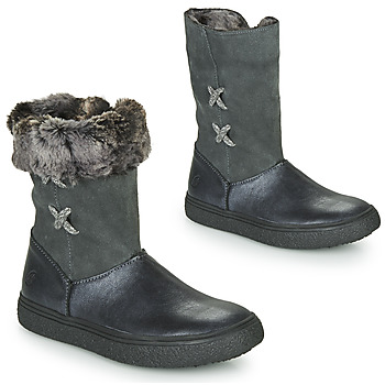Chaussures Fille Boots GBB OLINETTE Gris