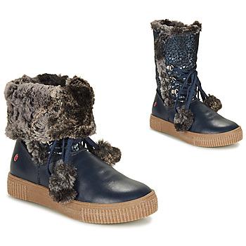 Chaussures Fille Boots GBB NOUSTIK Bleu