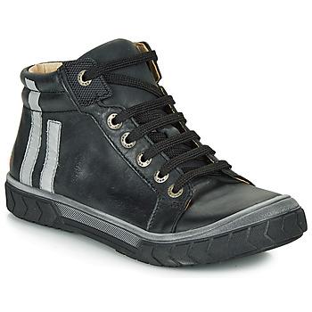 Chaussures Garçon Baskets montantes GBB OSKOF Noir