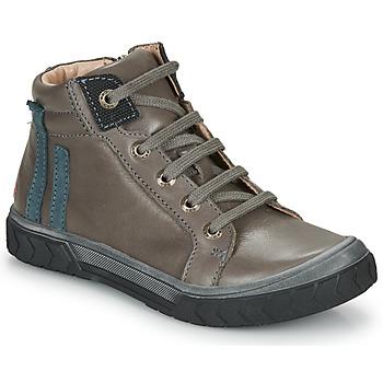 Chaussures Garçon Baskets montantes GBB OSKOF Gris