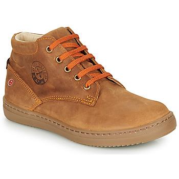 Chaussures Garçon Baskets montantes GBB NINO Marron