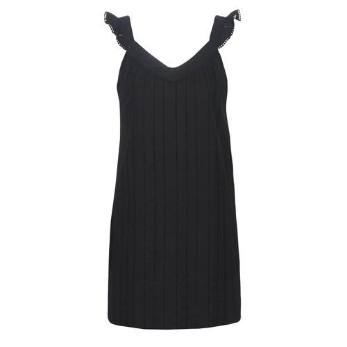 Vêtements Femme Robes courtes Betty London KOUDIE Noir