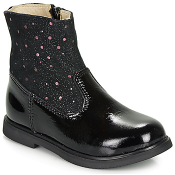 Chaussures Fille Boots GBB OSHINO Noir