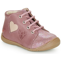 Chaussures Fille Baskets montantes GBB OCALA Vieux Rose
