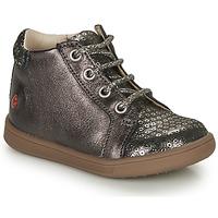 Chaussures Fille Baskets montantes GBB FAMIA Gris / Argenté