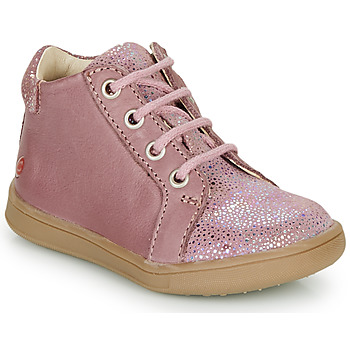 Chaussures Fille Baskets montantes GBB FAMIA Vieux rose