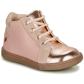 Chaussures Fille Baskets montantes GBB FAMIA Rose