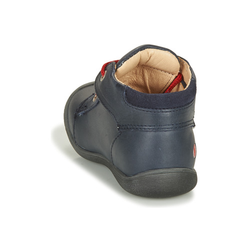 Gbb Ovelo Marine / Rouge - Livraison Gratuite- Chaussures Boot Enfant 5360 Omdul