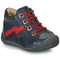 Chaussures Garçon Boots GBB ORAM Marine / Rouge