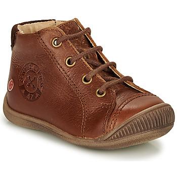 Chaussures Garçon Boots GBB NOE Marron