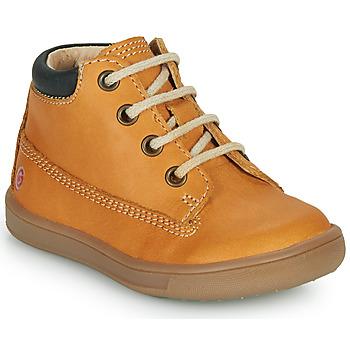 Chaussures Garçon Baskets montantes GBB NORMAN Orange
