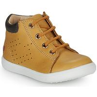Chaussures Garçon Baskets montantes GBB FOLLIO Orange