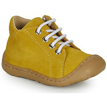 Chaussures Garçon Baskets montantes GBB FREDDO Orange