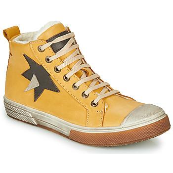Chaussures Garçon Baskets montantes GBB OCALIAN Jaune