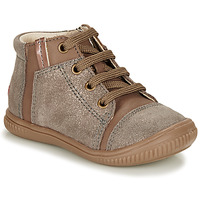 Chaussures Fille Baskets montantes GBB OUNA Taupe