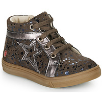 Chaussures Fille Baskets montantes GBB NAVETTE Taupe