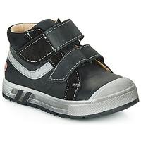 Chaussures Garçon Baskets montantes GBB OMALLO Noir