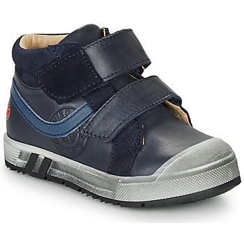 Chaussures Garçon Baskets montantes GBB OMALLO Marine