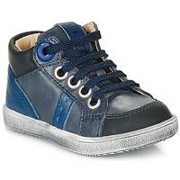Chaussures Garçon Baskets montantes GBB ANGELITO Bleu