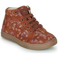 Chaussures Fille Baskets montantes GBB OMBLINE Brique