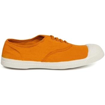 Chaussures Femme Baskets basses Bensimon Tennis à Lacets Curcuma Orange