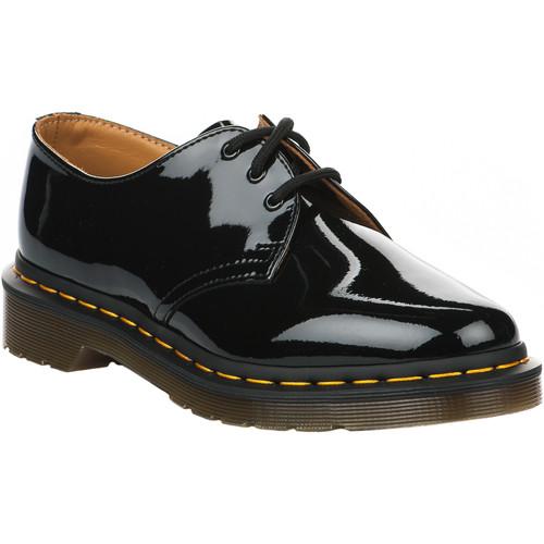 Chaussures Femme Derbies Dr Martens Chaussures à lacets femme -  - Noir verni - 36 NOIR