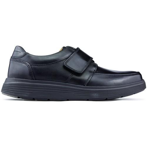 Chaussures Homme Mocassins Clarks Chaussures  UN ABODE STRAP NOIR