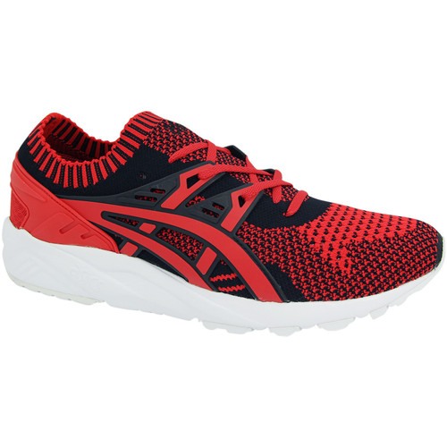 Chaussures Homme Baskets basses Asics Baskets basses GEL KAYANO TRAINER KNIT rouge