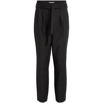 Vêtements Femme Pantalons Vila VISOFINA HW 7/8 PANT-NOOS Noir