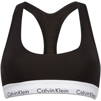 Sous-vêtements Femme Brassière sport Calvin Klein Jeans 0000F3785E Soutien-gorge femme Noir Noir