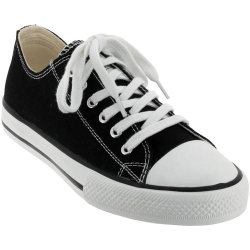 Chaussures Femme Baskets basses Victoria 6550 Noir toile