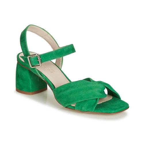 Sandales Et Jesse Femme Fericelli Vert Nu pieds F13KTlJc