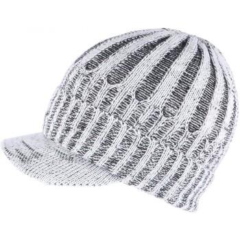 Accessoires textile Bonnets Nyls Création Bonnet Casquette gris double polaire Nafyx Gris