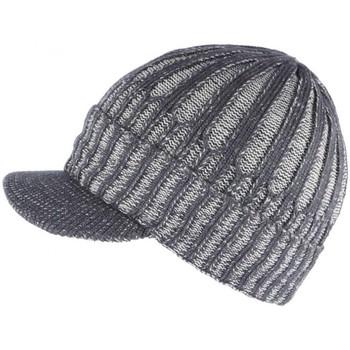 Accessoires textile Bonnets Nyls Création Bonnet Casquette gris doublure polaire Nafyx Gris