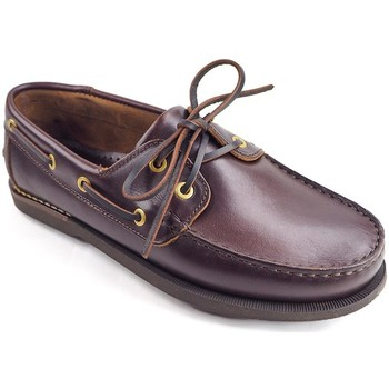 Chaussures Chaussures bateau La Valenciana Zapatos  3200 Pull Marrón Marron