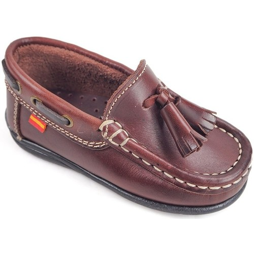 Chaussures Enfant Chaussures bateau La Valenciana Zapatos Niños  216 Burdeos rouge