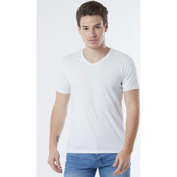 Vêtements T-shirts manches courtes No Name T-Shirt coton  ESSY White