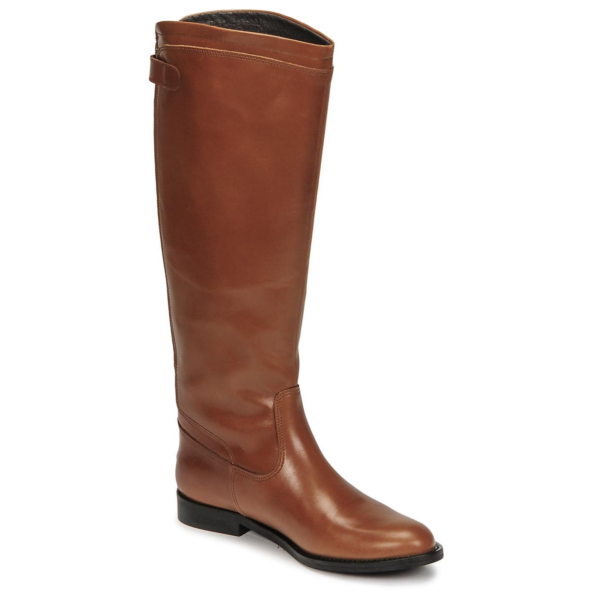 Jonak BATURINGI Cognac , Livraison Gratuite avec Spartoo.com ! , Chaussures Botte ville Femme 195,00 \u20ac