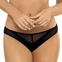 Sous-vêtements Femme Culottes & slips Gorteks Culotte glamour Adele noir Noir