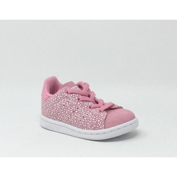 Chaussures Fille Baskets basses adidas Originals STAN SMITH ROSE rose