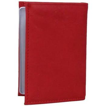 Sacs Femme Portefeuilles Frandi Petit porte cartes cuir fabrication France 9611.6 rouge