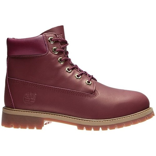 Chaussures Enfant Boots Timberland Junior Premium 6 Inch Waterproof Classic Marron