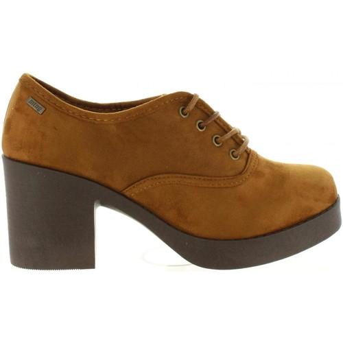 Chaussures Femme Derbies MTNG 58533 Beige