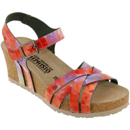 Chaussures Femme Sandales et Nu-pieds Mephisto Lanny Multi orange/Rose