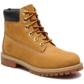 Chaussures Enfant Boots Timberland Boots  6 in Premium wheat WJ Camel