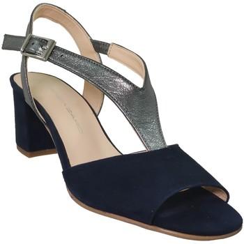 Chaussures Femme Sandales et Nu-pieds Brenda Zaro F3243 Marine velours