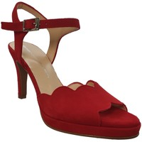 Chaussures Femme Sandales et Nu-pieds Brenda Zaro F3229 Rouge velours