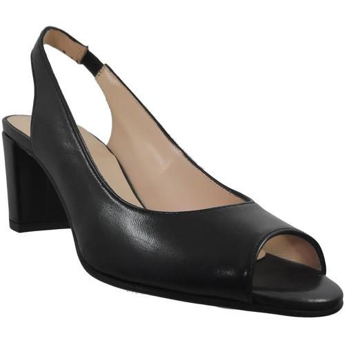 Chaussures Femme Sandales et Nu-pieds Brenda Zaro F3275 Noir cuir