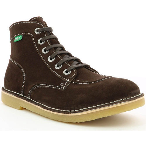 Chaussures Homme Boots Kickers Orilegend MARRON FONCE