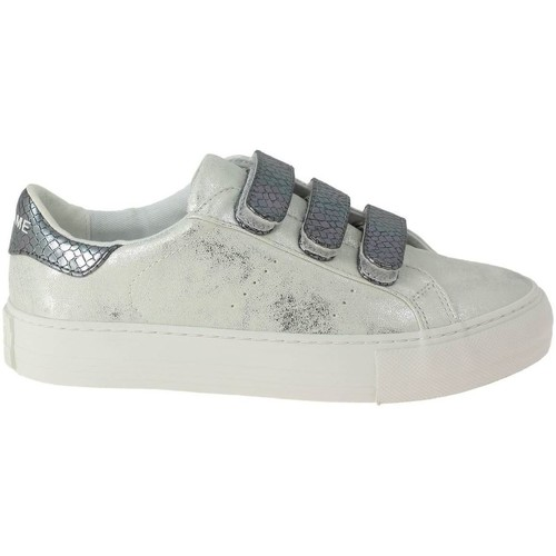 Chaussures Femme Baskets basses No Name arcade straps gloom argent